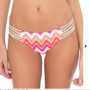 Luli fama flamingo beach bikini bottoms Xs